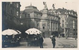 Červen 2018 - náměstí Míru, Divadlo na Vinohradech