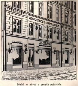 Beránek, kol. 1900. Zdroj: M. Frankl