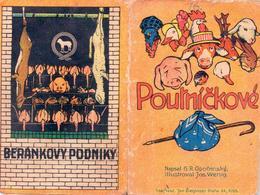 Beránek, reklamní pohádka, 20.-30. léta. Zdroj: M. Frankl