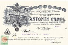 Zvonařka, A. Chmel, detail faktury, 1907. Zdroj: archiv M. Frankla