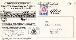Zvonařka, A. Chmel, detail faktury, 1929. Zdroj: archiv M. Frankla