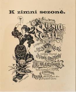 Maršner V - Reklama na čajové pastilky okolo 1900