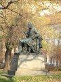 Pomník Jana Evangelisty Purkyně (autor fotografie: Milan Polák)