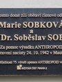 Soběslav Sobek a Marie Sobková, Italská čp. 36/25, Vinohrady