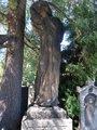 Žal (někdy je plastika uváděna jako Kristus), hrob Václava Beneše Třebízského, č. 5B-32, Vyšehradská hřbitov, Vyšehrad