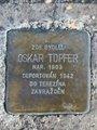 Kámen zmizelých, Oskar Töpfer (autor fotografie: Dagmar Broncová)
