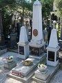 Smetanův hrob v květnu 2021 (Foto M. Polák)