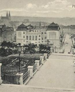 Albertovské schody, kol. 1912