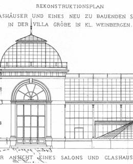 rekonstrukce skleníku 1884
