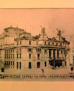 Definitivní návrh Aloise Čenského, 1902