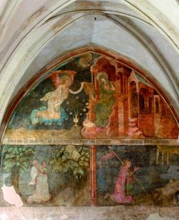 Freska, Emauzy