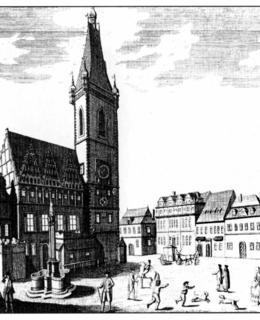Josef Dietzler, Novoměstská radnice, 1741 (převzato z Josef Hrubeš, Novoměstská radnice, 2000)