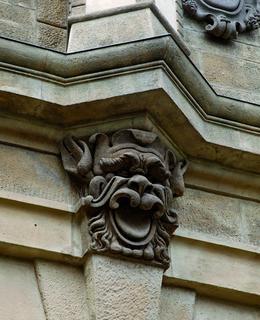 Maskaron na Leopoldově bráně