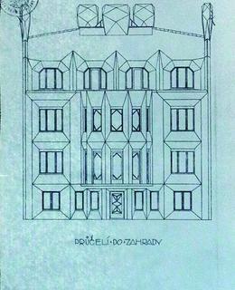 Průčelí Kovařovicovy vily, 1912