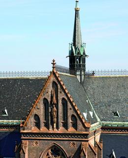 Transept, sv. ludmila
