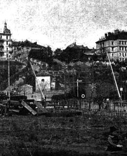 Stavba tunelu Janešek Julius