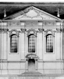 Kostel sv. Cyrila a Metoděje (dříve sv. Karla Borromejského) s bývalým domem pro vysloužilé kněze