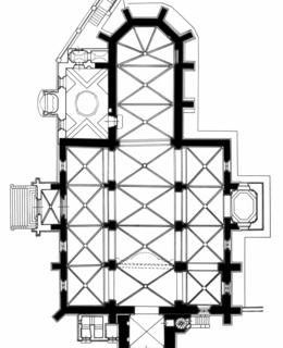 Kostel sv. Štěpána, zvonice a fara