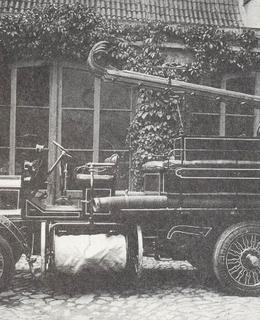 Hasičský vůz Delahaye, rok 1912