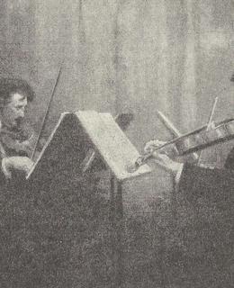 České kvarteto, Jos. Suk druhý zleva