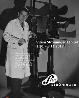 Vilém Ströminger - plakát výstavy