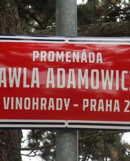Promenáda Pawla Adamowicze