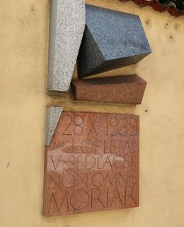 Pamětní deska v Žitné ulici