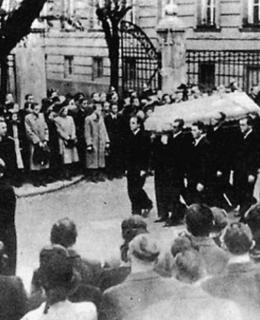 Pohřeb Jana Opletala