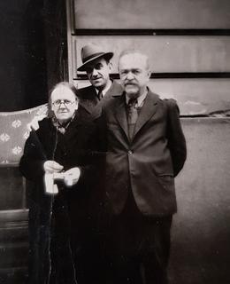 J.Fiala s rodinou 1935