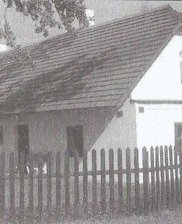 rodný dům Václava Veverky v Rybitví