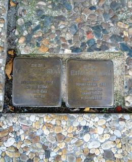 Kameny zmizelých v Oldřichově ulici
