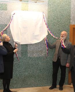 Slavnostní odhalení desky, foto M. Polák