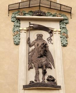 Reliéf sv. Václava, foto M. Polák