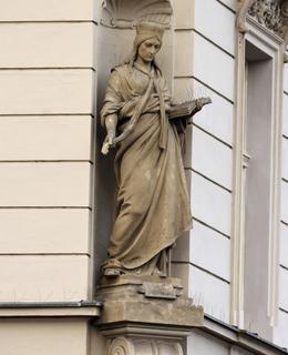 sv. Ludimla s knihou
