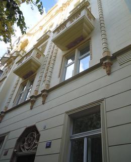 Dům v Lužické 33 (foto D. Broncová)