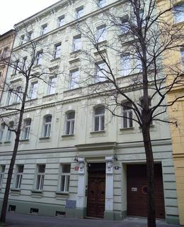 Dům v Mánesově č.45 (foto D. Broncová)