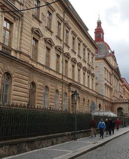 Budova bývalého nalezince (Foto Milan Polák, 2020)