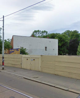 Areál v ulici Na Slupi, zdroj: Databáze divadel