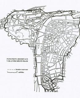 Pražská památková rezervace. Zdroj: Wikimedia