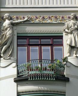Peterkův dům. Zdroj: art.nouveau.world, foto: E. Fontvila