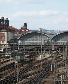 Praha - hlavní nádraží (Foto Milan Polák (2003)