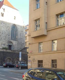 Dům č. 4 v Resslově ulici (foto D. Broncová)