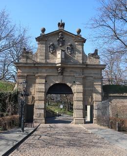 Leopoldova brána v březnu 2020 (Foto M. Polák)