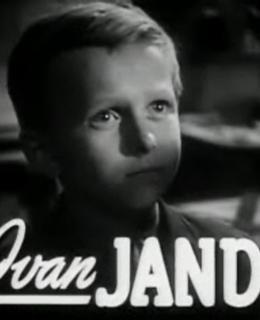 Ivan Jandl na plakátu k filmu Poznamenaní (Foto Wikipedia)
