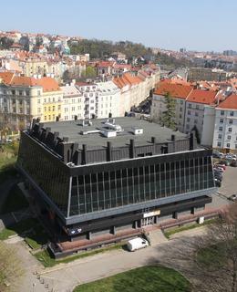 Sportovní hala v dubnu 2020 (Foto M. Polák)