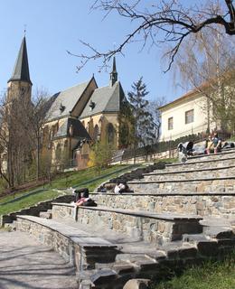 Amfiteátr (Foto M. Polák, duben 2020)