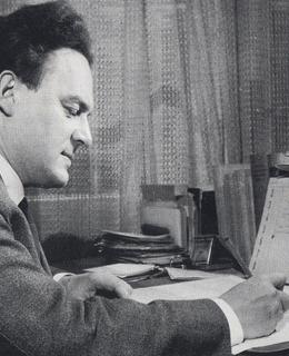 Jan Kapr při práci