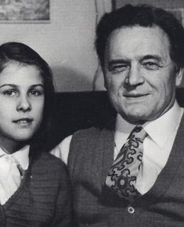 Jan Kapr s dcerou Madlenkou