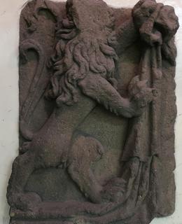 Detail reliéfu lva (Foto M. Polák, 2020)
