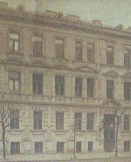Židovský sirotčinec v Belgické ulici 67/25 (archiv)